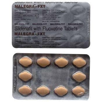 Malegra FXT (Sildenafil + Fluoxetine)